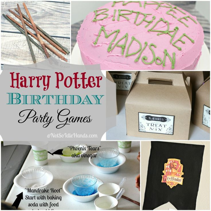 Harry Potter Birthday Party Games~Part 4 By: NotSoIdleHands.com