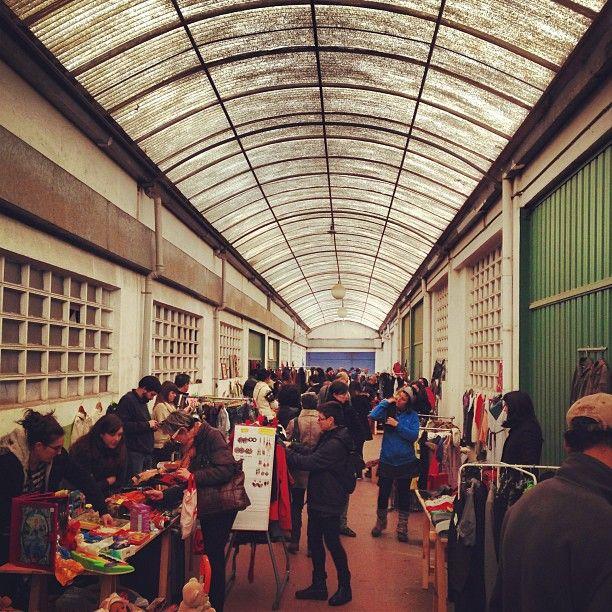 Flea Market en la antigua fábrica de galletas Artiach en Zorrozaurre (Ribera de Deusto, 70B) http://espacioopen.com/