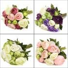 10 Heads Artificial Silk Flower Camellia Wedding Bouquet Party Home Decoration-Wedding Decor Supplies