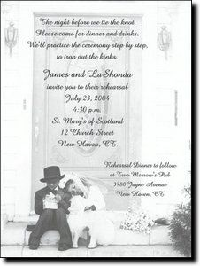 In Love African American Bridal Shower And Wedding Celebration Invitations  By TCWDesigns.com