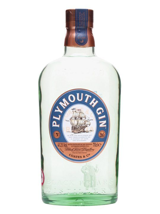 New(ish) Plymouth Gin bottle