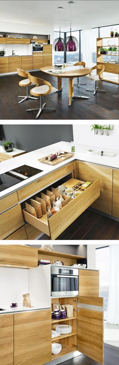 48 best Holzküchen images on Pinterest - arbeitsplatte küche massivholz