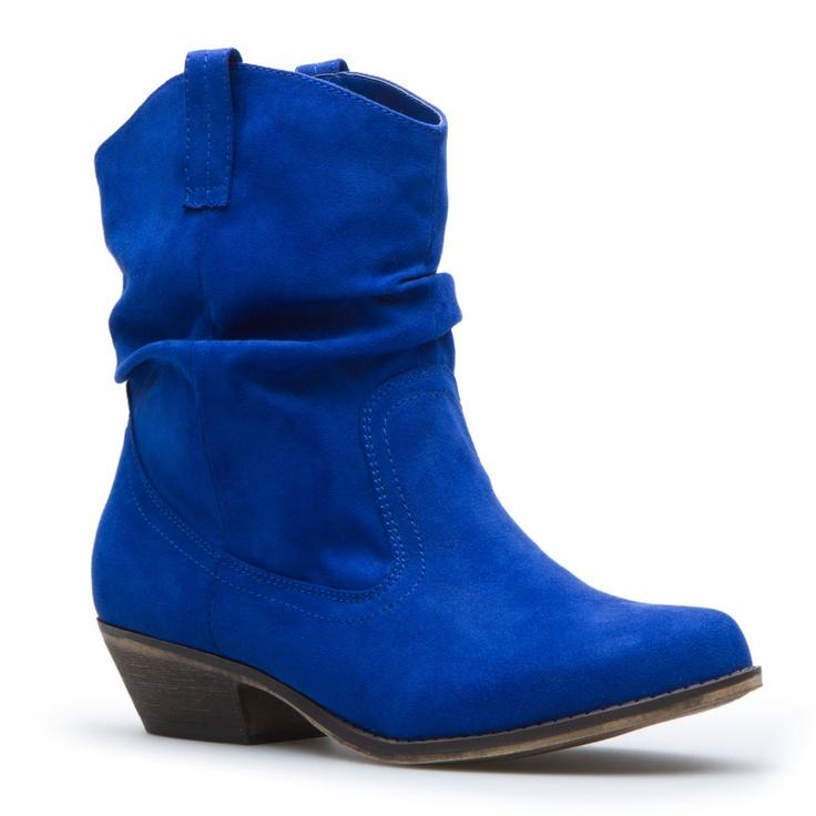 Great color: Shoedazzl Com, Cowboy Boots, Shoes Dazzle, Cute Shoes, Cobalt Blue, Blue Shoes, Blue Boots, Cowboys Boots, Bold Colors