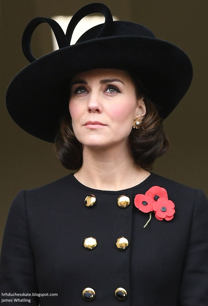 The Royal Family Gathers for Remembrance Sunday Ceremony