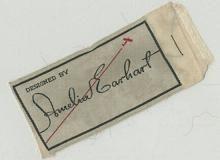 1934: Amelia Earhart launches a fashion line