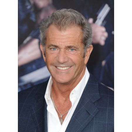 Mel Gibson At Arrivals For The Expendables 3 Premiere Canvas Art - (16 x 20)