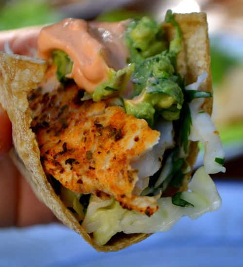 25 best ideas about grilled fish tacos on pinterest for Grilled fish taco recipe with cabbage slaw