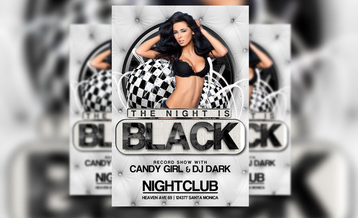 Check out our newest black night flyer template!   http://awesomeflyer.com/shop/club-flyer/black-night-flyer-template/