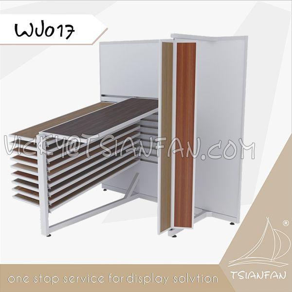 WJ017-- Laminate wood flooring tile display stand
