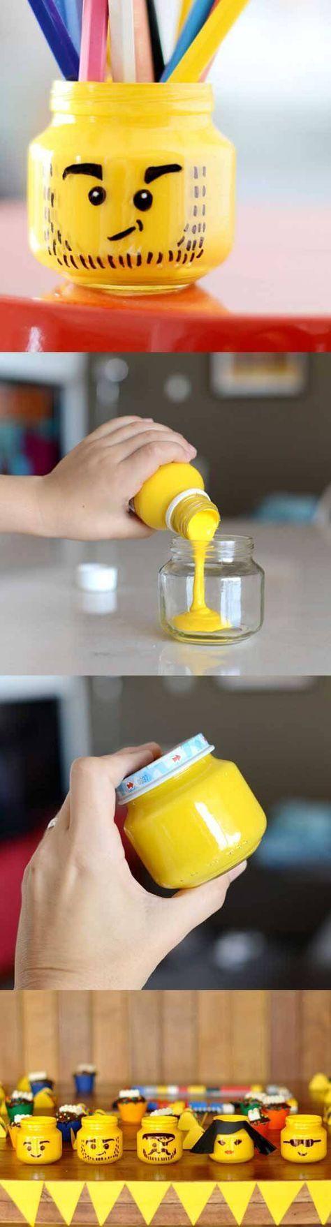 Lego Storage Ideas - Mini tubs