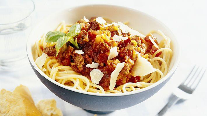 MatPrat - Spagetti med kjøttsaus