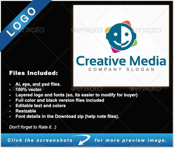 Creative Media - Logo Templates Creative Media ideas