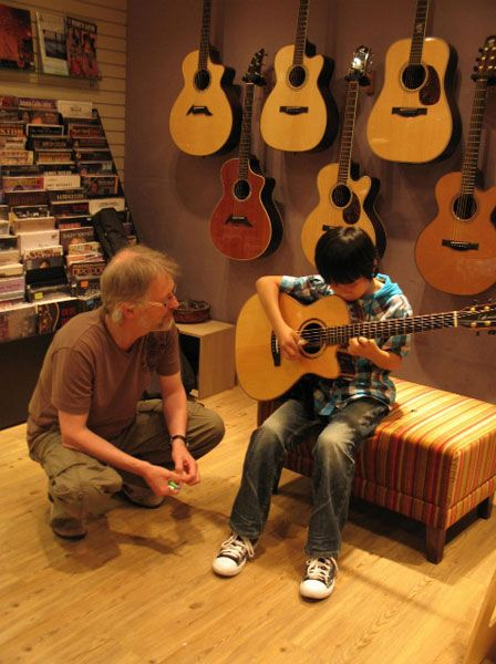 Sungha with Ulli Bogershausen :)