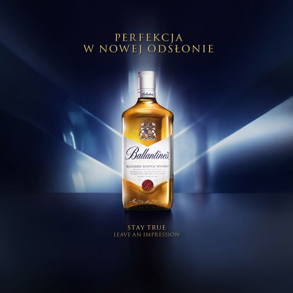 Ballantines by Tomek Albin, via Behance