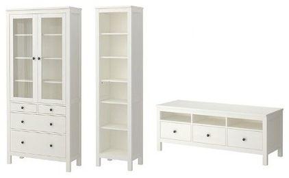 Create 'custom' built-ins using IKEA Hemnes line - by Christina Katos