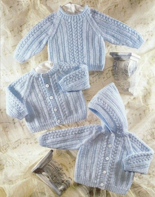 sirdar baby knit pattern cardigan, sweater, hoodie