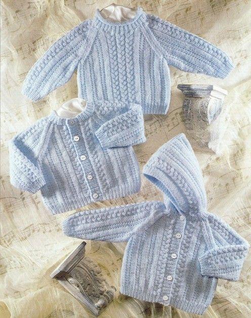 sirdar baby knit pattern cardigan, sweater, hoodie