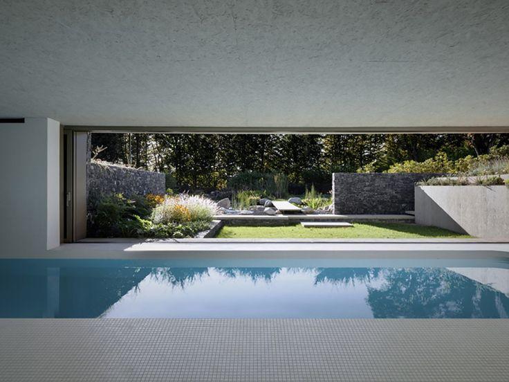 25 melhores ideias sobre piscina interna no pinterest piscinas internas piscinas de sonho e - Piscina interna casa ...