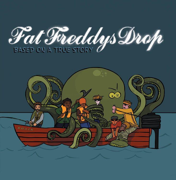 Fat Freddys Drop Album Cover - Based on a True Story