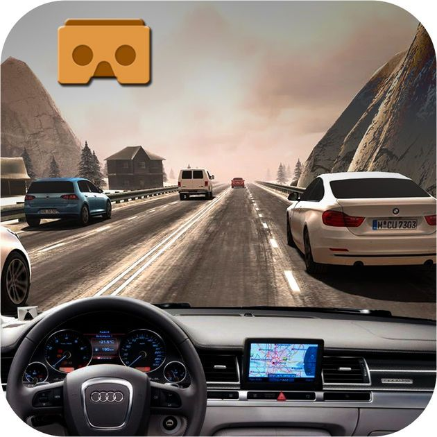 #NEW #iOS #APP VR Real Highway Traffic Racer - Muhammad Zubair