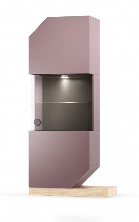 Atrage atentia aspura lucrurilor cu adevarat importante pentru tine cu ajutorul Cabinetului cu vitrina Nook Oak! #modern #look #furniture #home #design #SomProduct