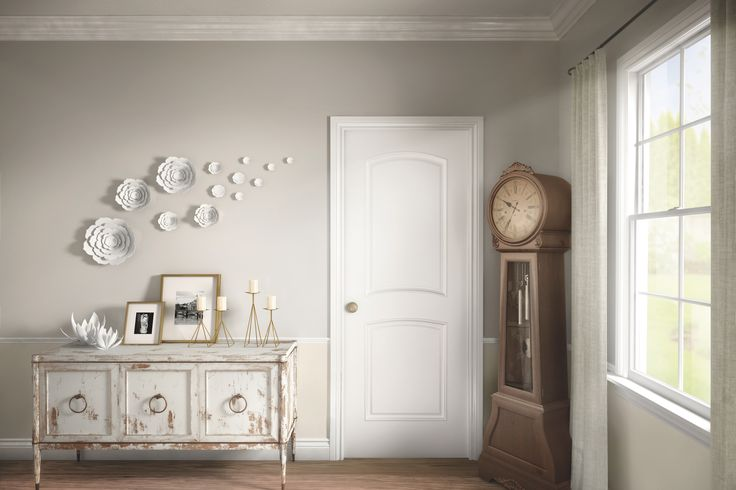 Metrie's Option {M} Shabby Chic Interior Moulding and Door Combinations