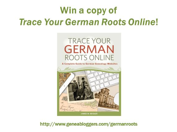 Win a copy of the new book Trace Your German Roots Online from Shop Family Tree http://www.geneabloggers.com/giveaways/win-copy-new-book-trace-german-roots-online-shop-family-tree/?lucky=59625