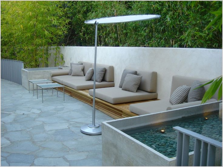 outdoor furniture built in - Google Search