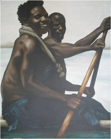 STRENGTH - Acrylic on Canvas (80 x 120cm)