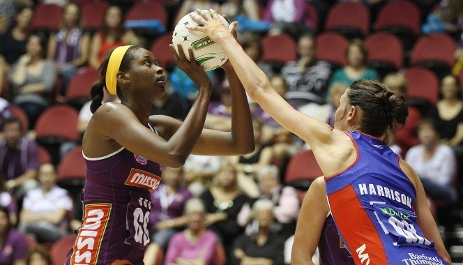 Netball Australia's National Director of Umpiring, Chris Burton, says the Northern Mystics' defensive of Anna Harrison, Kayla Cullen and Jessica Moulds deserve praise for their assisted intercepts against the Melbourne Vixens.