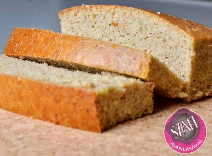 Éhezésmentes Karcsúság Szafival: Paleo kenyér recept