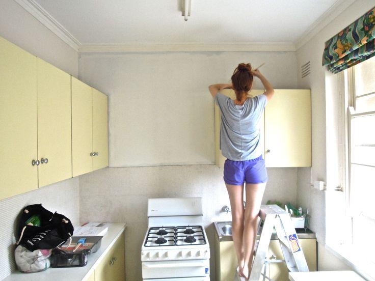 """Kitchen; Dulux """"Natural White"""""""