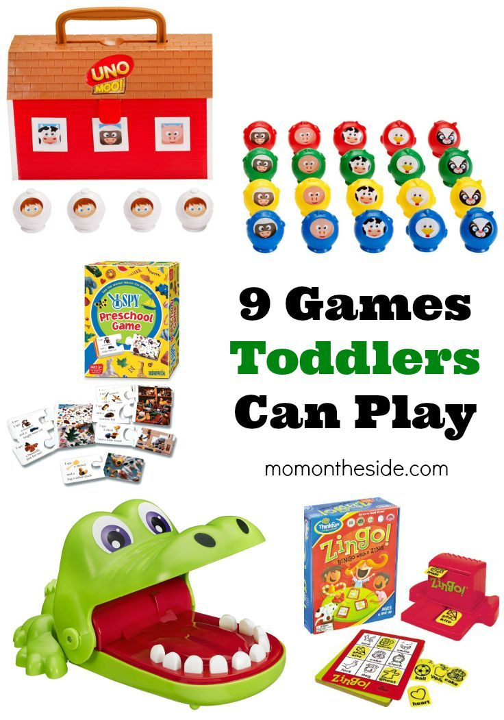 Games Toddlers Can Play that are fun and teach lots of skill. If you're looking for new games for Family Game Night with Toddlers, check out this list!