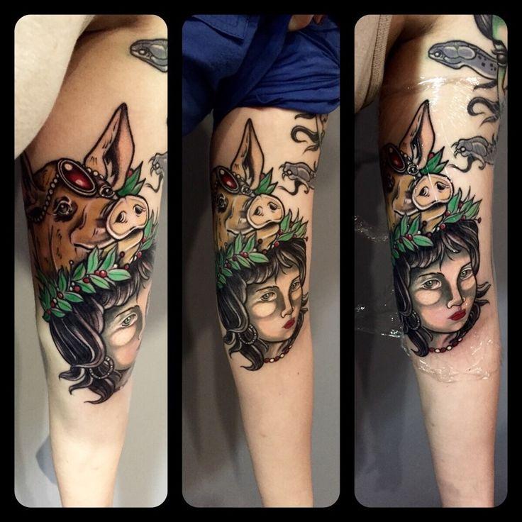 Tatuaggi colorati Limbiate