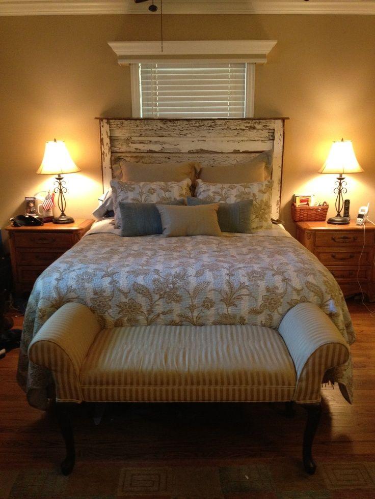 Reclaimed Wood Bedroom Set White Distressed Furniture Sets: 31 Best Barnwood Headboard Ideas Images On Pinterest