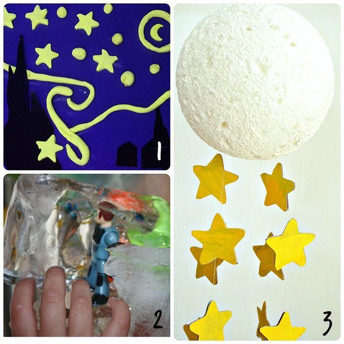 Space themed children's activities