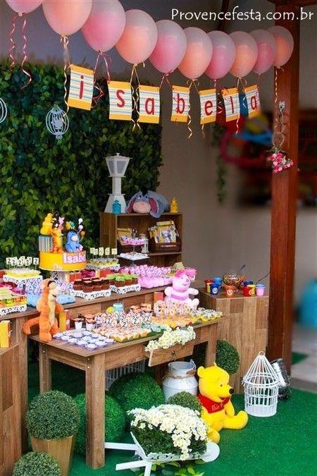 Festa Ursinho Pooh Rústca