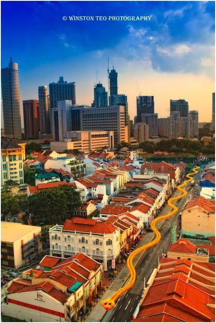 Celebrating Chinese New Year in Singapore Chinatown