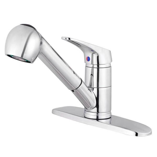 this pull out spray faucet is great for kitchen in home villa rh pinterest at