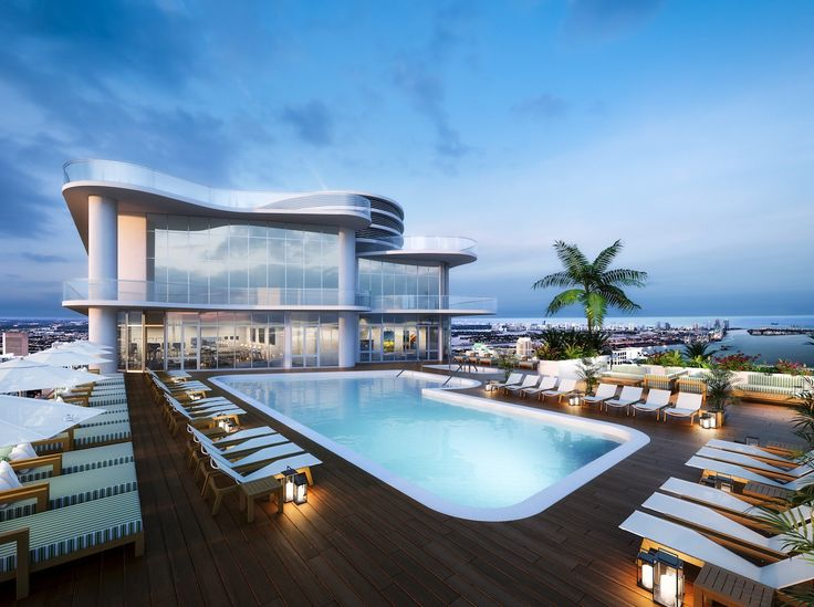 Rooftop pools to make your head swim rooftop pool and for Rooftop swimming pool