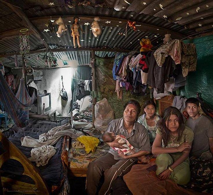 Poniéndole rostro a la miseria: las panorámicas de Andy Goldstein por los asentamientos