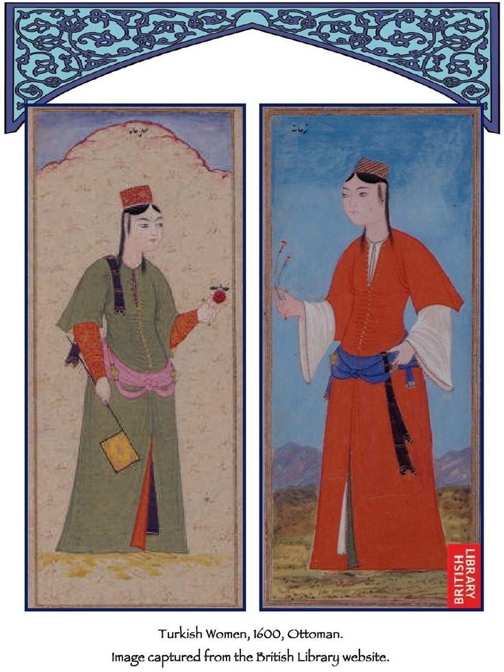 Turkish women, 1600, Ottoman