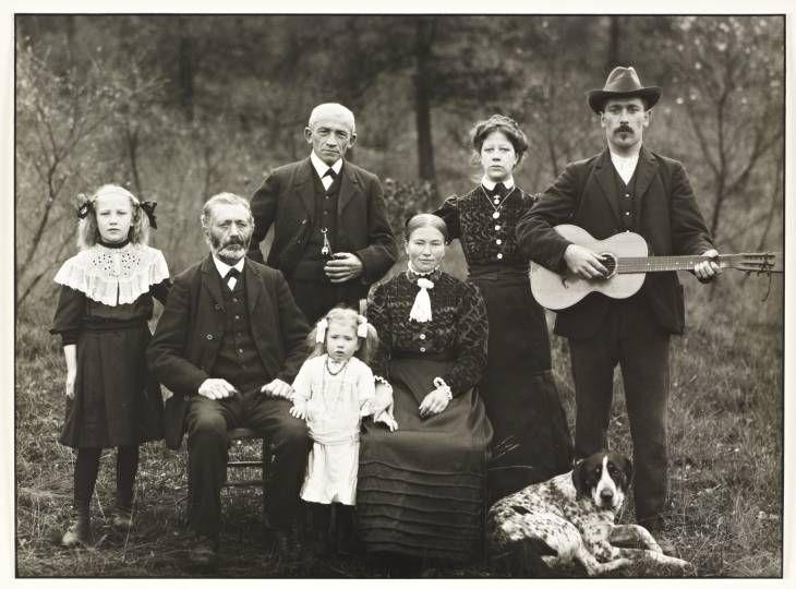 August Sander 'Farming Family', 1912