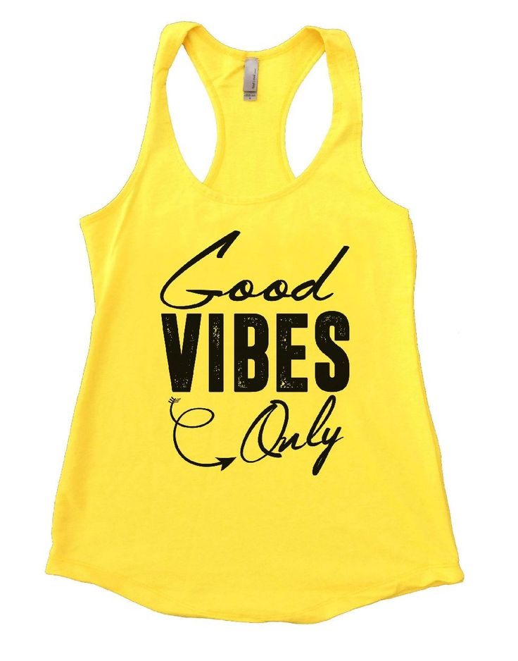 Good VIBES Only Womens Workout Tank Top 3
