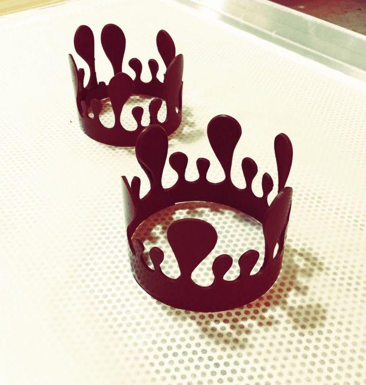 Как делать шоколадную Корону.