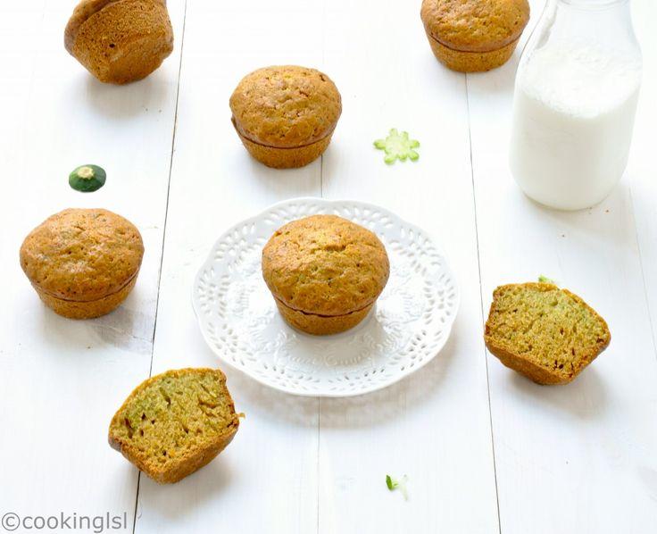 Zucchini Muffins With Coconut Oil | Recipe