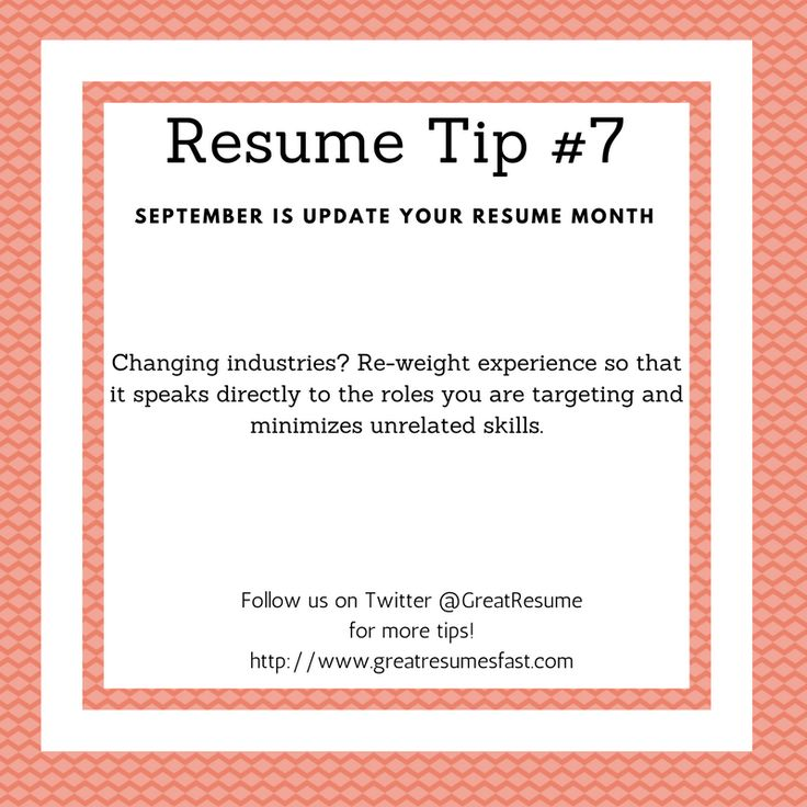 64 best 2017 Resume Tips images on Pinterest Resume tips - tips for resume