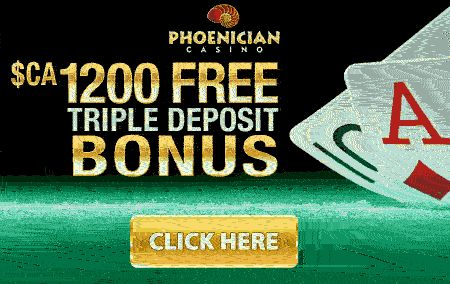 Phoenician Casino Free Triple Deposit Bonus