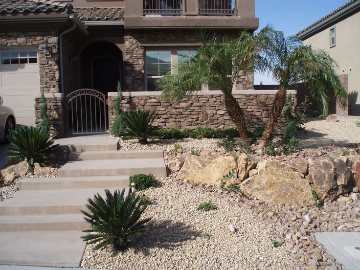 Image result for front yard las vegas landscaping