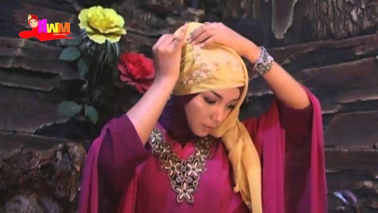 Ramadhan 2015 Jilbab Pesta Segi Empat Modern